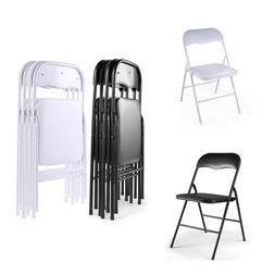 Plastic Folding Chairs Commercial Wedding Party Event Beach