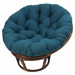 Blazing Needles 44in Solid Twill Papasan Cushion Fits 42in P
