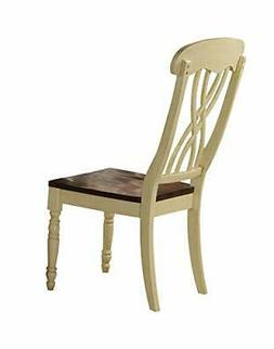 ACME Furniture 70333 Dylan Buttermilk Side Chair