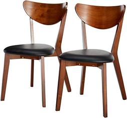 Coaster Home Furnishings Contemporary Dining Chair in Dark W