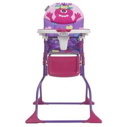 Cosco Simple Fold Deluxe High Chair, Monster Shelley Easy-to
