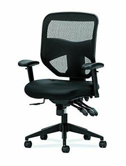 HON Prominent High Back Leather Task Chair - Mesh Computer C