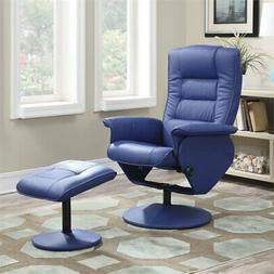 Acme Arche Recliner with Ottoman Set