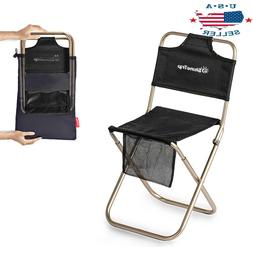 Camping Stool,Portable Folding Travel Camp Fishing Chair, Fo