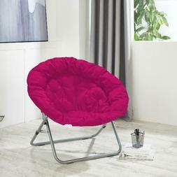 Comfy Pink Urban Shop Oversized Moon Chair