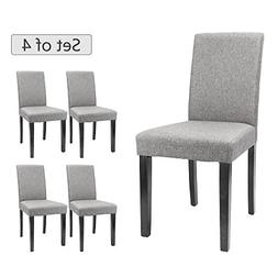 Furmax Dining Chairs Urban Style Fabric Parson Chair Kitchen