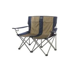 kamp rite double folding chair with arm