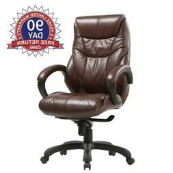 Executive Bonded Leather Chair Chairs Lean Forward High Back