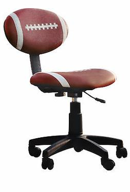 Acme Youth Office chair - 5-star Base - Black, White - 19 Wi