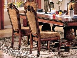 ACME Furniture Chateau De Ville Dining Side Chair Fabric Cus