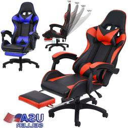 Gaming Chair High Back Racing Style Reclining Office Executi