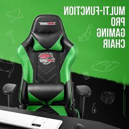 Gaming Chair with Footrest Office Racing Style  Computer Swi