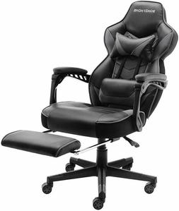 GAMING RACING CHAIR COMPUTER OFFICE DESK PU LEATHER EXECUTIV