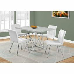 """Monarch Specialties I 1043 Dining Table-36""""X 48"""" / Grey Ceme"""
