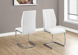 """Monarch Specialties I 1075 2 Piece Dining CHAIR-2PCS/ 39"""" Le"""