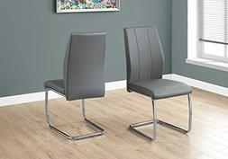 """Monarch Specialties I 1077 2 Piece Dining CHAIR-2PCS/ 39"""" Le"""