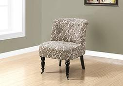Monarch Specialties I 8170 Accent Chair, Taupe