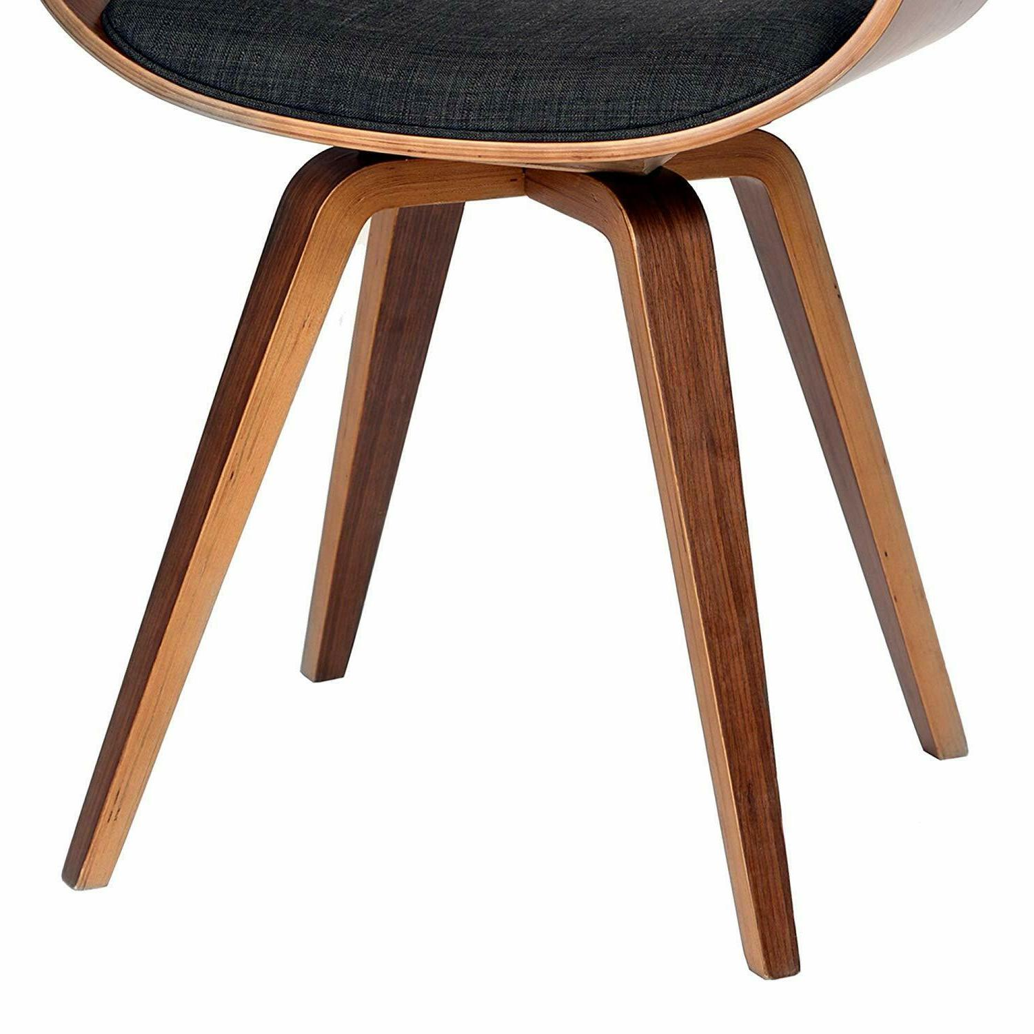 Armen Summer Chair in Charcoal and Walnut