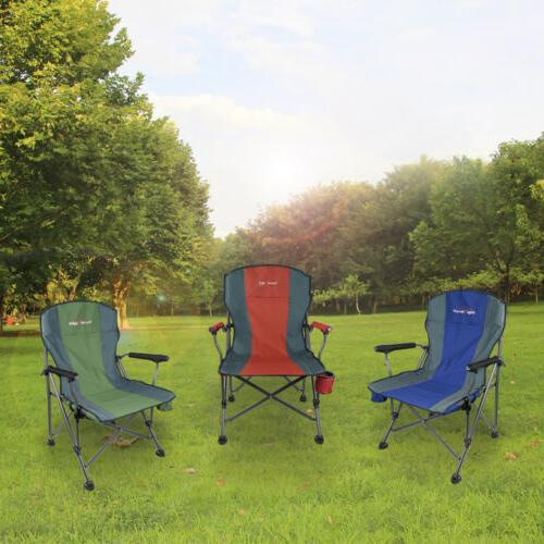 Heavy Folding Chair Camping Outdoor Portable Seat Fishing Size