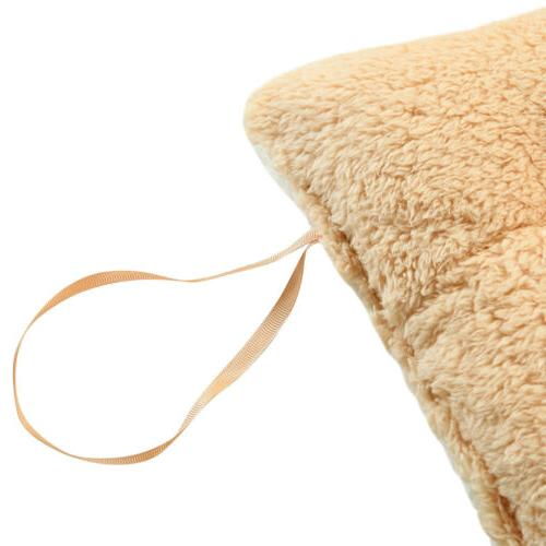 Chair Cushion Pads Thick Cashmere Dining Office W/Tie
