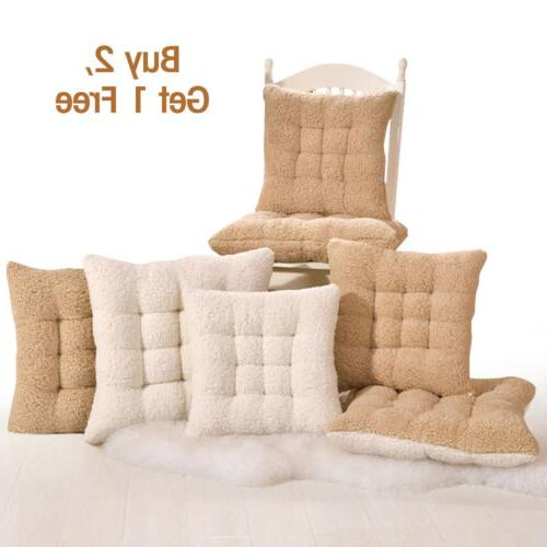 chair seat cushion pads thick cashmere soft