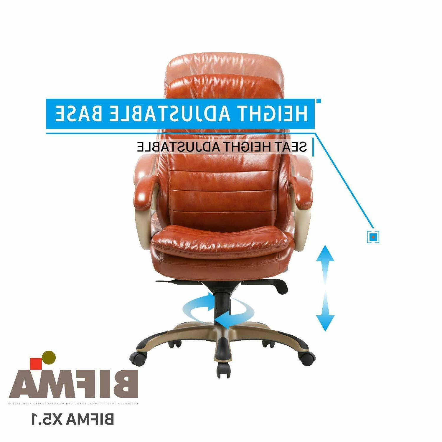 Executive Leather Comfort Managerial