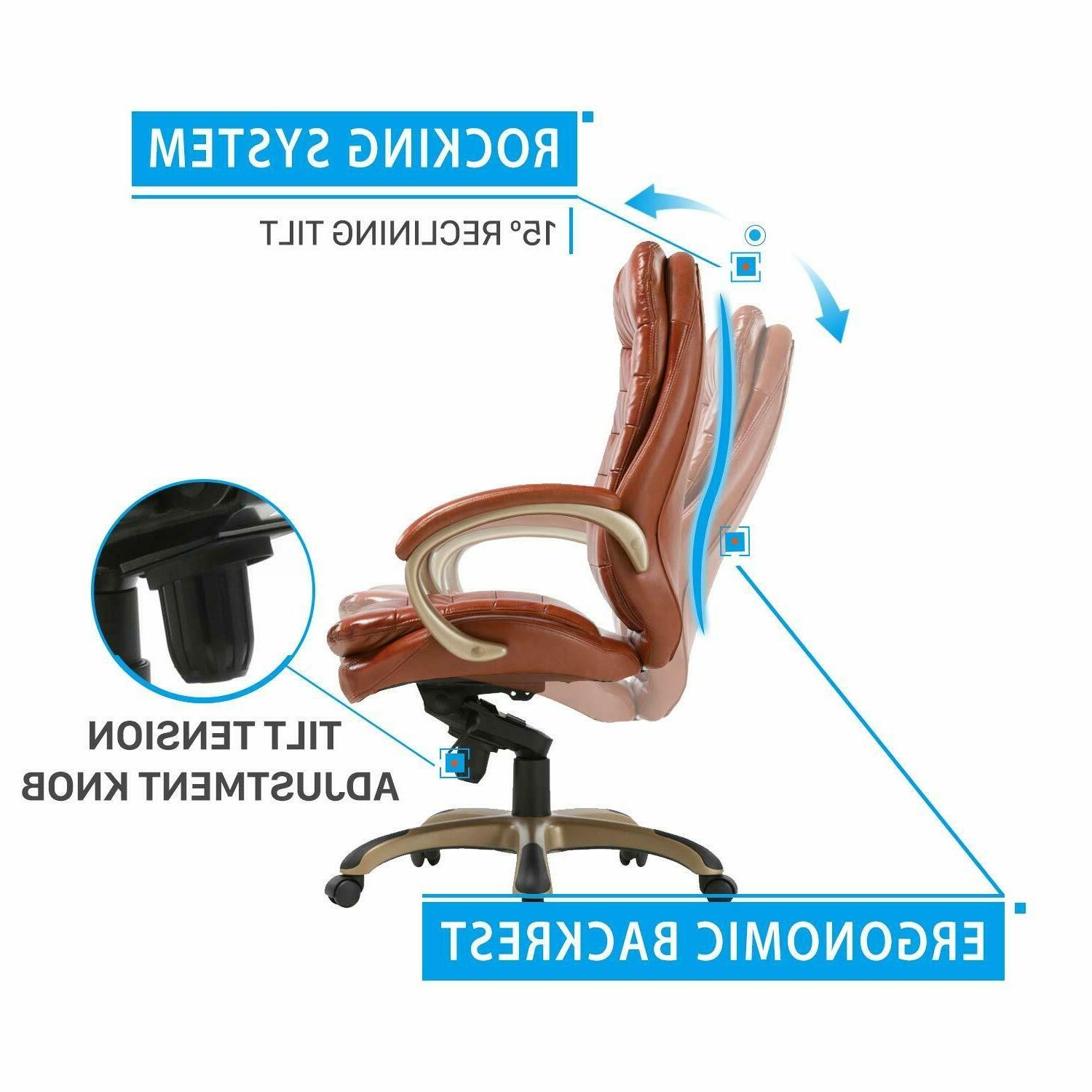 Executive Leather Comfort Managerial Office