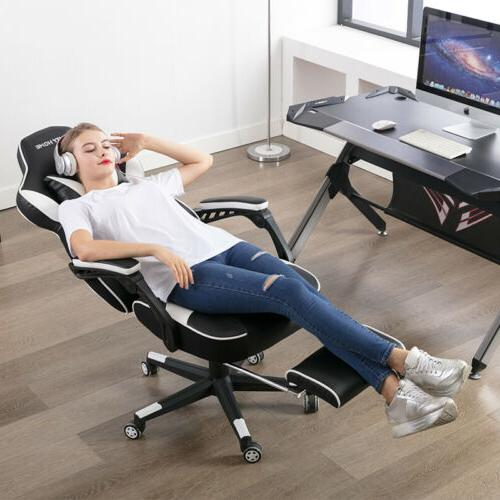 Gaming Chair Leather Seat