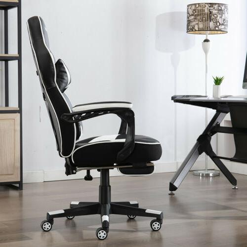 Gaming Chair Racing Leather Office Computer Seat