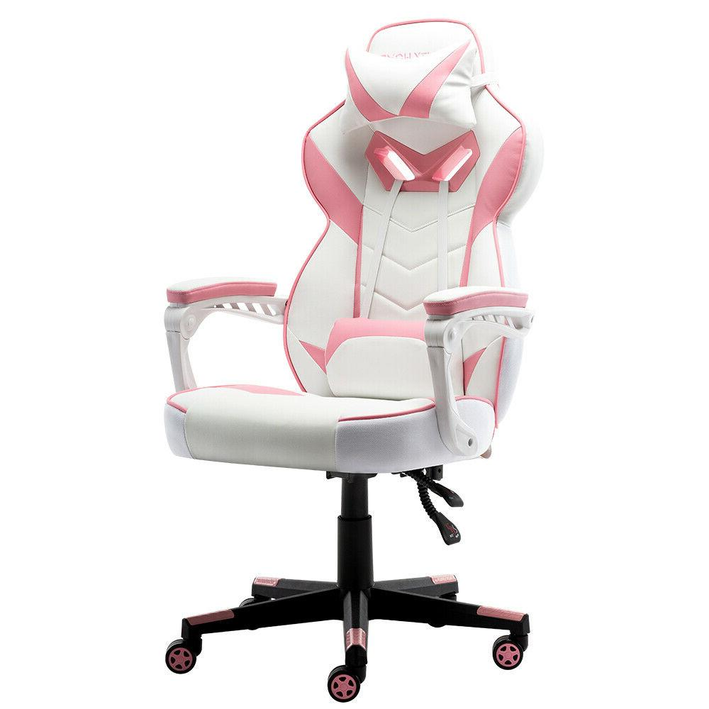 Gaming Chair Racing Office Recliner Desk High-Back
