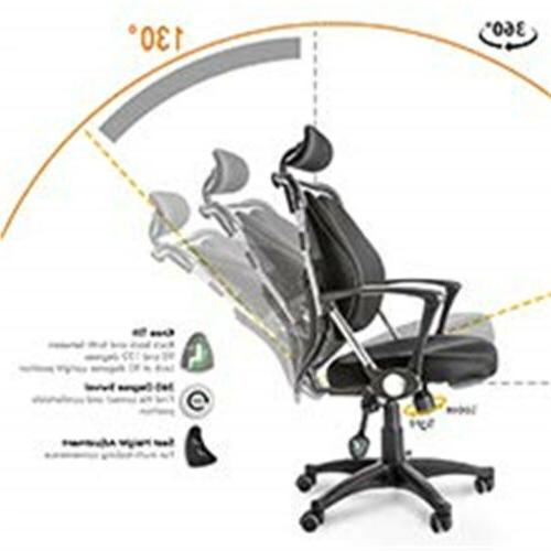 Gaming Chair Computer Managerial with Back Support