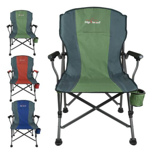 heavy duty folding chair camping outdoor portable