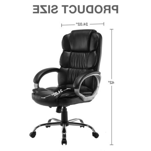 Luxury Executive PU Computer Desk Chair