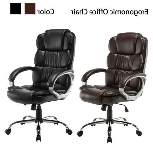 luxury executive high back pu office chair