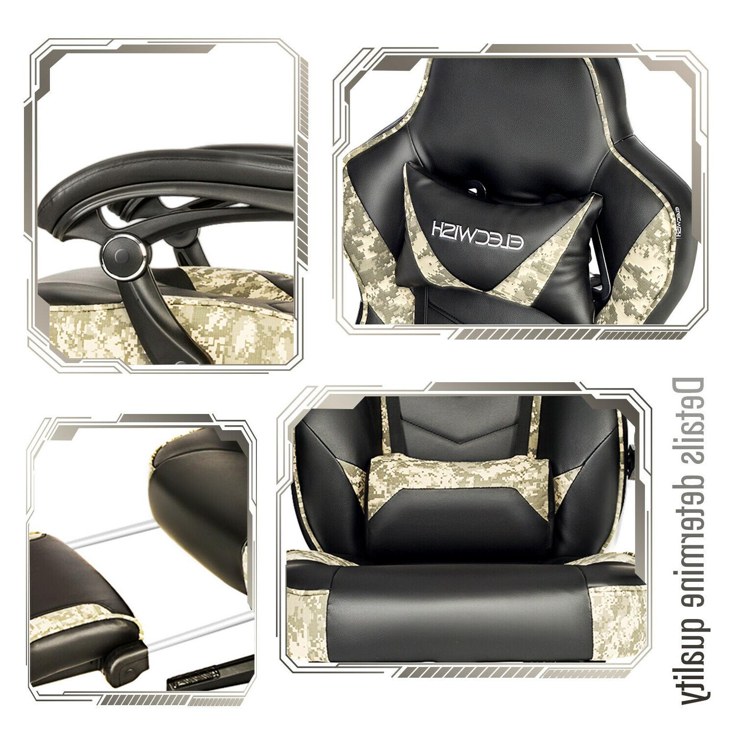 Massage Gaming Office Seat Leather