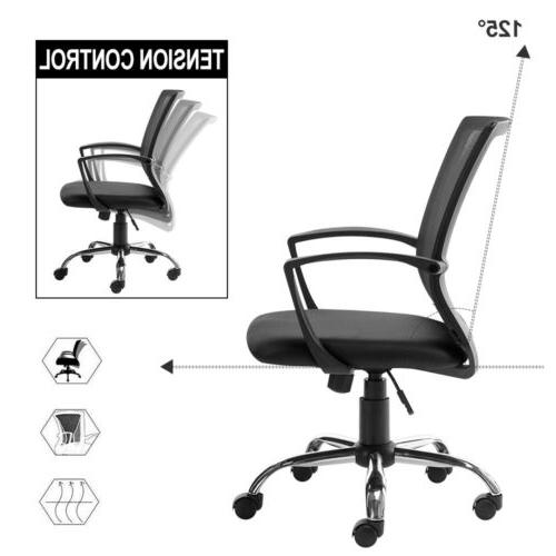 Office Chair Computer Swivel Mesh Chair