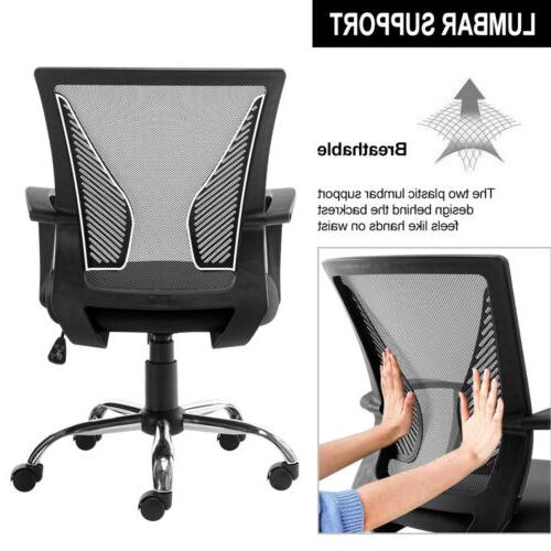 Office Chair Computer Desk Seat Adjustable Swivel Task