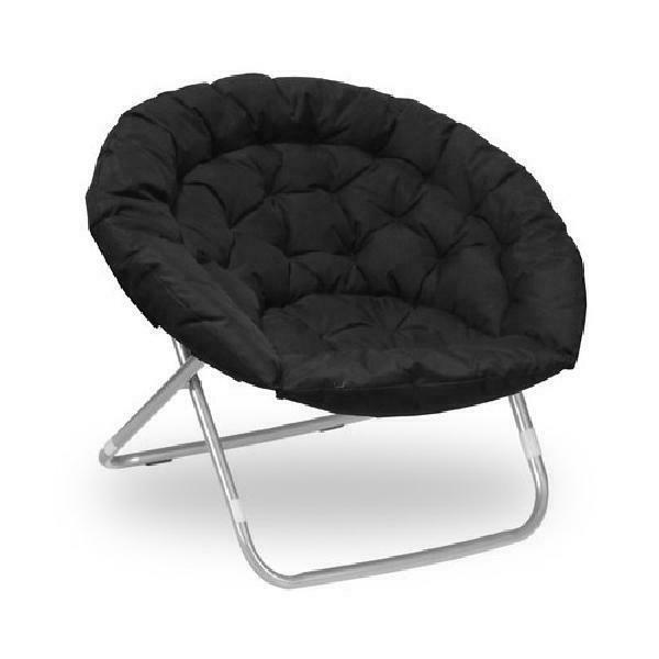 Urban Shop Oversized Moon Chair, Available in Multiple Color