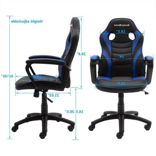 Racing Gaming Chair Design Leather Computer