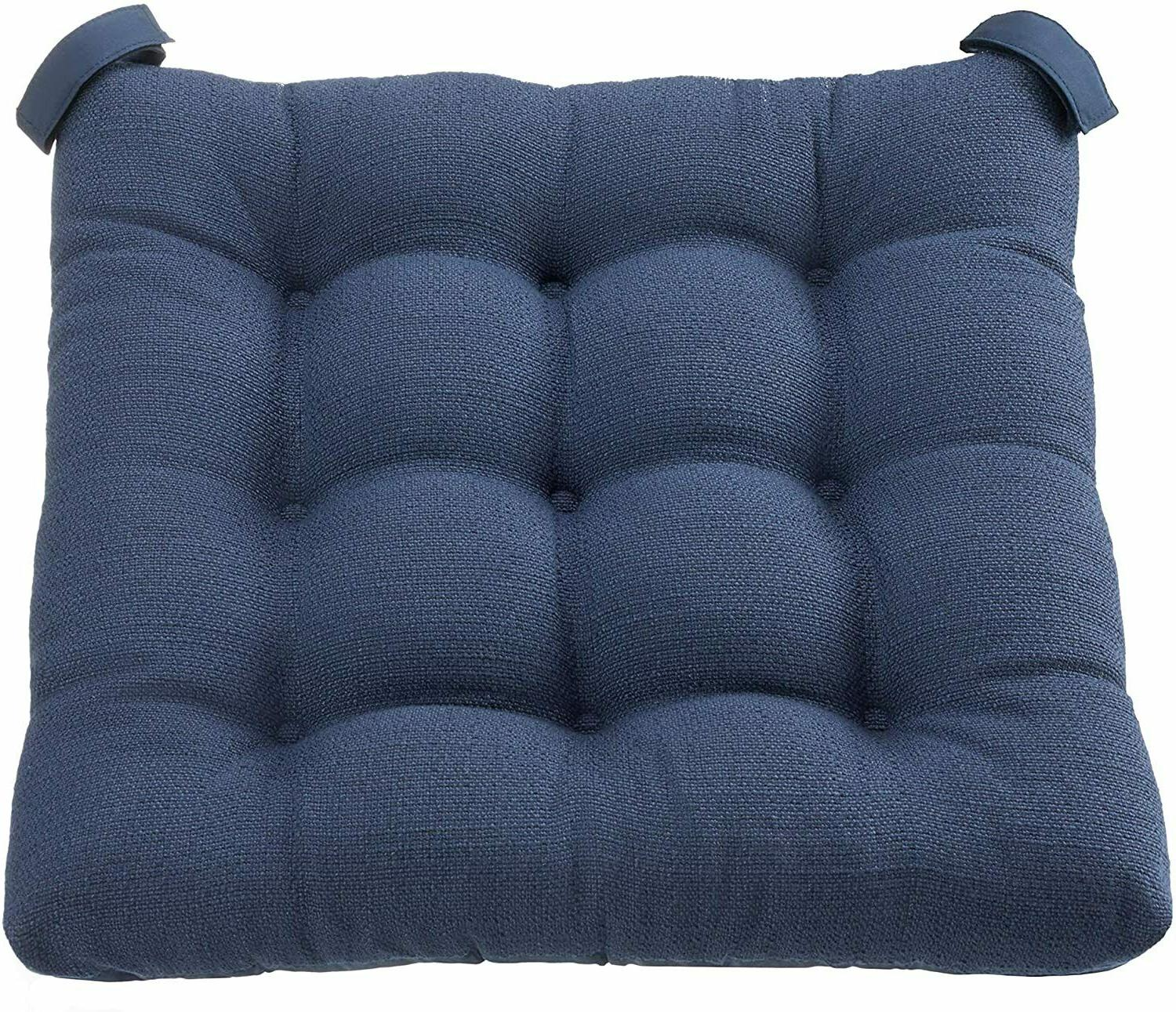 textured navy blue set of 4 chair