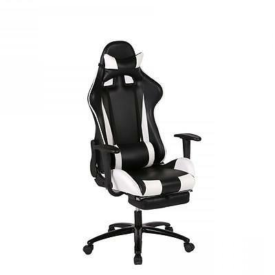 White Gaming High-back Computer Chair Racing RC1