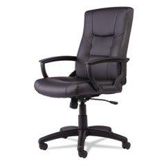 YR Series Executive High-Back Swivel/Tilt Leather Chair