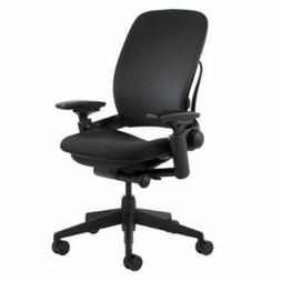 Steelcase Leap V2 Chair,  -Open Box- Fully Loaded Black Fabr