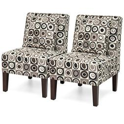 Best Choice Products Set of 2 Living Room Furniture Armless