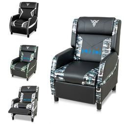 Massage Gaming Chair Racing Office Computer Desk Swivel Seat