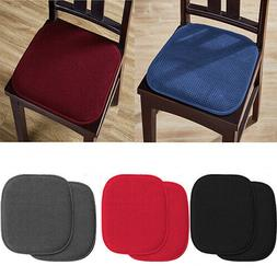 Memory Foam with Non-Slip Backing Chair Cushion Pads,2 ,4 or