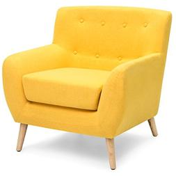Best Choice Products Mid-Century Modern Upholstered Tufted A