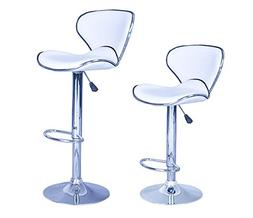 New Modern Adjustable Synthetic Leather Swivel Bar Stools Ch