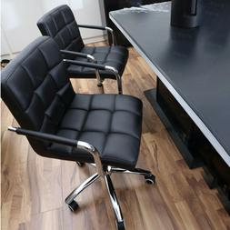 Modern Office Executive Chair PU Leather Computer Desk Task