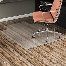 """Alera Non-Studded Chair Mat for Hard Floor 45"""" x 53"""" with Li"""
